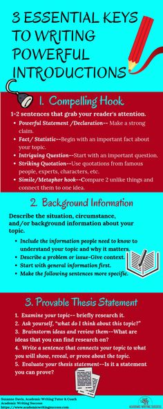 Do you struggle with writing an introduction to a research paper? There are 3 important elements every engaging research paper introduction must have: a compelling hook, background information about the topic or issue, and a provable thesis statement. In this blog post, you will learn the best way to write a research paper introduction that impresses your readers. Academic Essay Writing, Custom Essay Writing Service, Paper Writing Service, Essay Writer, Persuasive Essays, English Writing Skills, Essay Writing Tips, Argumentative Essay, Writing Help