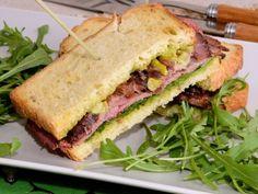 Receta | Sandwich de Roast-beef - canalcocina.es