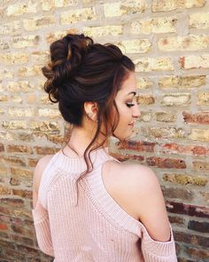 another angle on this gorgeous updo style   hair + makeup by goldplaited    #updo #prom #promhair #bride #bridal #bridalhair #wedding #modernsalon #weddinghair #chicago #chicagobride #hair #braidbarchicago #gpupdo