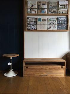 4.Low Board 90 Flap Door ローボード/テレビボード/テレビ台/TVボード Decor, Furniture, Cafe, Cabinet, Home Decor, Credenza, Storage