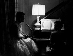 Billie Holiday and Hazel Scott, New York, 1947, photo by Roy DeCarava