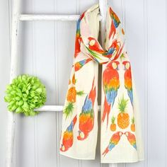 Shop a range of colourful accessories from House of Disaster at Lisa Angel! Lowest prices guaranteed and with Free Worldwide Delivery! Disaster Designs, Lisa Angel, Summer Scarves, Spring Colors, Scarf Styles, Havana, Womens Scarves, New Outfits, Parrot