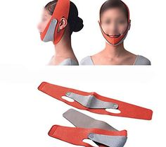 1Pcs New Women beauty health care thin face mask slimming facial thin masseter double chin skin care face bandage massager *** Click on the image for additional details.