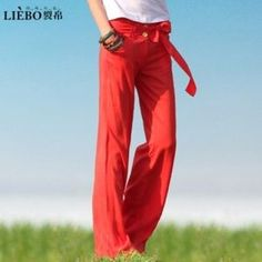 I just discovered this while shopping on Poshmark: Linen Wide-Leg Pants. Check it out! Price: $20 Size: 6