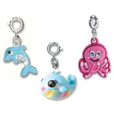 CHARM IT! Set of 3 Ocean Themed Charm Set with Dolphin, Rainbow Whale and Octopus Charms (Apparel)  http://www.amazon.com/dp/B002NI52NC/?tag=iphonreplacem-20  B002NI52NC