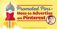 Promoted Pins: How to Advertise on Pinterest http://www.socialmediaexaminer.com/promoted-pins-how-to-advertise-on-pinterest-vincent-ng?utm_source=rss&utm_medium=Friendly Connect&utm_campaign=RSS @smexaminer