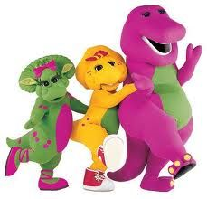 Told my mom and my brother I'd never grow out of barney. I even had Barney shoes. Thank goodness I grew out of it. Childhood Tv Shows, 90s Childhood, Childhood Memories, Hades Disney, Los Snorkels, Barney Birthday, Barney Party, 2nd Birthday, Barney Cake