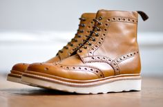 """Fred"" boot by Grenson"