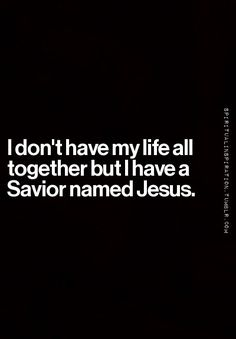 Yes, THIS is the essence of salvation