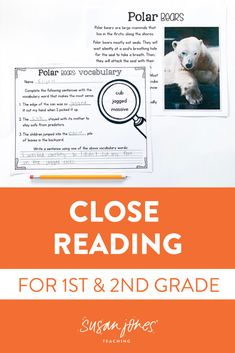 I have been through numerous trainings for close reading and at first I thought it was skill too difficult for my 1st graders. When I started researching the topic more, I realized that when broken down, there are parts of close reading that can apply to any reader, regardless of their grade level. This unit has just what you need to help your students! Download the preview to see more!  #closereading #firstgradereading