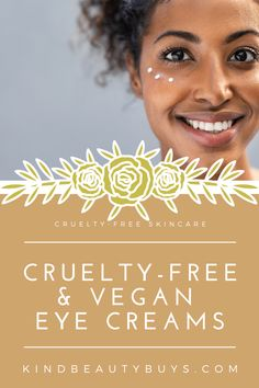 Tired eyes? Well give these 14 natural, cruelty-free & (almost all) vegan eye creams a try. You should find a perfect solution to help protect and nourish the skin around your eyes with one of these beauties! Tired Eyes, Eye Creams, Puffy Eyes, Cruelty Free, Your Skin, Skincare, Vegan, Natural, Beauty