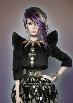 VELVET SYBARITE Superdoll By Superfrock by Culte De Paris, via Flickr