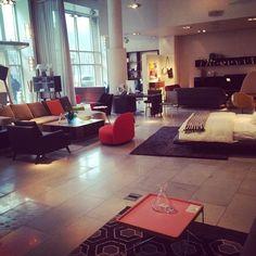 Ligne Roset Showroom San Francisco  Live Beautifully! www.lignerosetsf.com  #Design #LigneRosetSF #Home