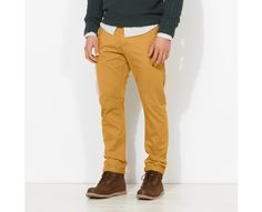 Thompson Lake Chino Pants in medal bronze #menswear #style #timberland