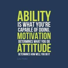 Motivational quote from Lou Holtz! Can apply this to wrestling, football, & life!!