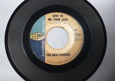 THE NEW PHOENIX - Give To Me Your Love / Thanks (Psyche Rock 45 Vinyl) WP Promo #PsychedelicRock