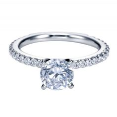 Beautiful and classic this delicate engagement ring is truly stunning!