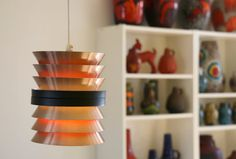 Carl Thore Pendant light TRAVA 1960s Iconic by vintagemoodsNL