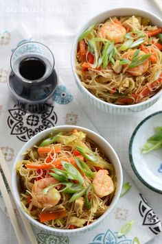 Singapore Mei Fun Noodles Recipe