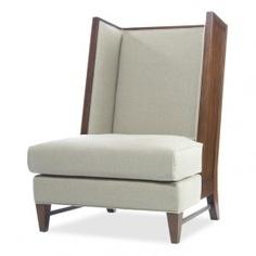 Dylan Wing Back Slipper Chair