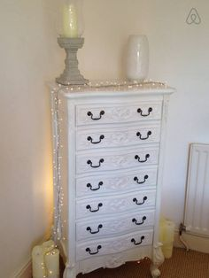 French chest of drawers for storage