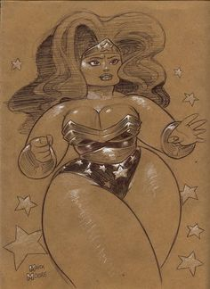 my fave bbw wonder woman