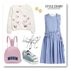 """""""RCC 4.07"""" by vandinha2010 ❤ liked on Polyvore featuring MSGM, Valentino, Tai and Bellagio"""