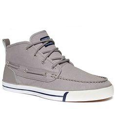 Nautica Shoes, Del Mar Mid Canvas Sneakers - Sneakers & Athletic - Men - Macy's