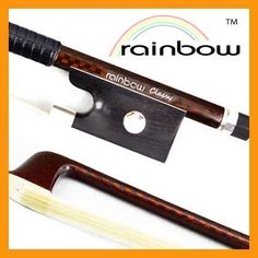 VingoBow New Full Size DURABLE Master Carbon Fiber Violin Bow Pernambuco Performance Well Flexible and Great Balance Wonderful String Instrument Par Art NoRainbow Classy >>> Visit the image link more details. (It is Amazon affiliate link) #follow