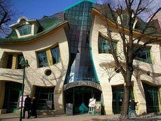 Strange house.  Hard to furnish???