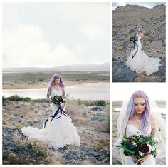 Relish in the beauty of these gorgeous mountain bridal photos featuring Britt in Allure Style 9223, a strapless, ruffled mermaid wedding dress from Gateway Bridal & Prom in SLC, Utah.