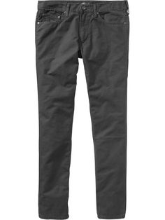 Old Navy Mens 5 Pocket Canvas Pants Size 36 W (36L) Tall - Gray charles | 42% OFF