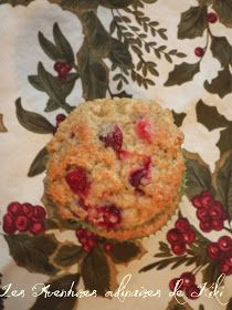Faits avec amour /Les Aventures culinaires de Kiki: Muffins aux canneberges et à l'orange