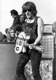 Paul Kantner of the Jefferson Airplane at The Altamont