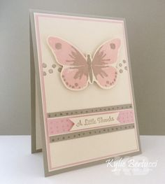 Kylie Bertucci - Stampin' Up! Watercolor Wings 2015-2016 Annual Catalogue/Catalog Come to my blog to find out the measurements and tips and tricks to make this card #watercolorwings