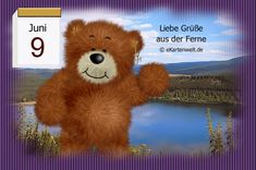 Juni, Gifs, Teddy Bear, Night, Animals, Day Of Year Calendar, Gif Pictures, February, Animales