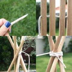 How To: DIY Tee Pee Tent - part 1 ▽▼▽ My Poppet - kids | craft | vintage | fun.