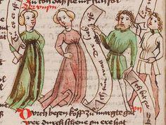 Wolfenbüttel, Herzog August Bibliothek,  Thomasin <Circlaere>   Welscher Gast (W) — Süddeutschland, 3. Viertel des 15. Jhs. Cod. Guelf. 37.19 Aug. 2° Folio 15v