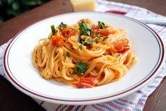 Speghetti con aglio e pomodoro | Cooking Italy