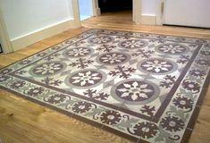 Tiles set in wood Decor, Tiles, Hallway Flooring, Home Decor, Vintage Tile, Hardwood Floor Colors, Flooring, Mosaic, Encaustic Tile