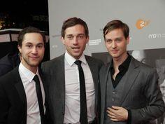 Ludwig Trepte, Volker Bruch ❤️, Tom Schilling...the handsome guys from Unsere Mütter, unsere Väter.