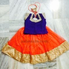 Kundan Work Kids Blouse - Indian Dresses