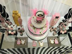 Chanel Baby Shower Party Ideas   Photo 7 of 19   Catch My Party