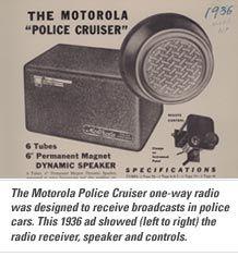 Motorola Police Cruiser, 1936