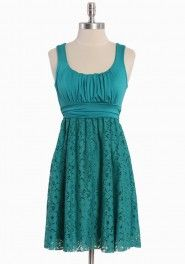 teal lace!?cute!