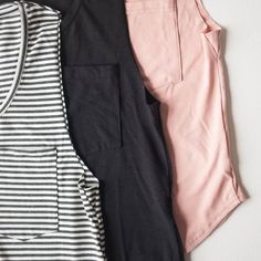 Good things come in threes. #tanktop #ethicallymade