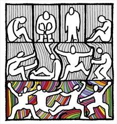 Libération Art Print by tzigone