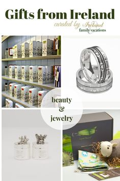 Beauty and Jewelry gifts from Ireland. Irish gift ideas curated from my own Ireland vacations. Personal recommendations for Irish gifts. Ireland Vacation, Ireland Travel, Christmas In Ireland, Overseas Travel, Irish Art, Ireland Landscape, Christmas Activities, Video Photography, Weekend Getaways