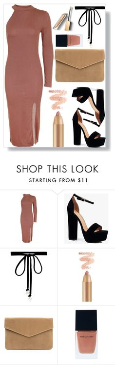 """Untitled #784"" by anacarolinaferraz ❤ liked on Polyvore featuring Topshop, Boohoo, Joomi Lim, Witchery and Burberry"