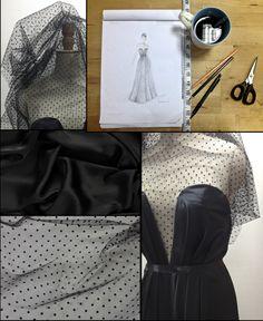 Večerní šaty na míru připravené pro jakoukoli zákaznici... v případě zájmu neváhejte a pište :) Martinna :)))